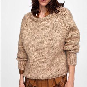 Zara knit - round neck sweater